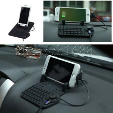 ONE Non-Slip Phone pad GPS Holder Dashboard Stand USB Mount Charger Cradle
