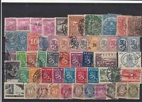 Chile Finland Norway Hinged Stamps Ref 31781