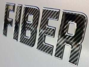 Carbon Fiber Textured Domed Lettering Boat Registration Raised Domed Numbers 16