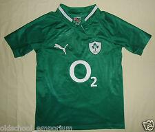 Ireland (IRFU) / 2011-2013 Home - PUMA - JUNIOR Rugby Shirt / Jersey. 10y, 140cm
