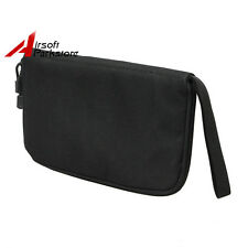 Tactical US Army 600D Padded Hand Gun Pistol Carry Case Pouch Bag Carrier Black