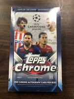 2019-20 Topps Chrome UEFA Champions League Sealed Hobby Box Look 4 Haaland