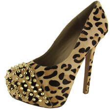 Pumps, Classics Leopard Heels for Women