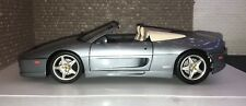 Hot Wheels 1:18 Diecast Model Car Silver Ferrari 1995 F355 Spider-boxed