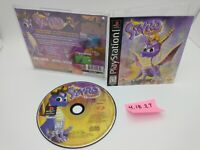 Spyro the Dragon (PlayStation 1, PSX PS1) Complete Black Label Nice Disc!