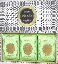 Guerlain Mitsouko 3 x 80 g perfumed Soap / Savon / Seife /
