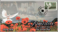 Ca18-052, 2018, Armistice, Pictorial Postmark, First Day Cover, Ottawa On
