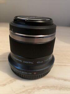 Olympus M.Zuiko 45mm f/1.8 AF ED Lens for Four Thirds - mint - Make An Offer