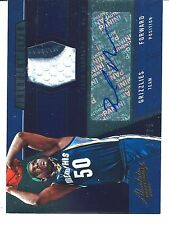 12-13 Absolute Zach Randolph Frequent Flyer PRIME PATCH AUTO 19/25!!!! SSP!!