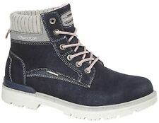 Ladies Womens Ankle Boots Lace Up Hiking Walking Trail Casual Shoes Size