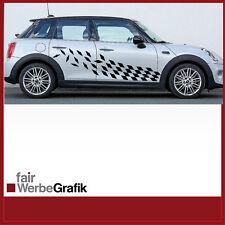 Autocollant/sticker/Pages Étiquette/Décor/Mini Cooper 4-Tuerer/#120
