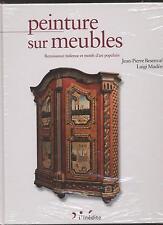 BOOK LIVRE PEINTURE SUR MEUBLES RENAISSANCE ITALIENNE ET MOTIFS D ART POPULAIRE