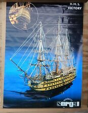 "SERGAL- HMS VICTORY MODEL KIT 49.1/2"" LONG WOODEN SHIP KIT 1:78"