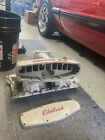 1979-1993 Mustang Edelbrock Intake Upper And Lower Mint Victor 5.0