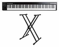 M-Audio KeyStation 88 MK3 Set USB MIDI Controller Masterkeyboard Keyboardständer