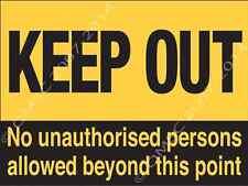 Keep Out Metal Sign, warning, kid bedroom door, hazard