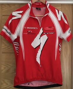 Specialized mens Short Sleeve Cycling Jersey Top Size large