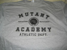 "XXXL X MEN ""MUTANTE Academy Athletic Department"" Grigio-T-shirt Nuove Cotone 100%"