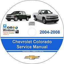 Chevrolet colorado repair manual / service manual online 2004.