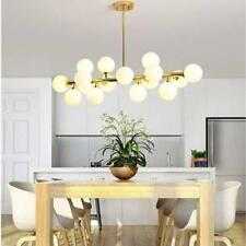 Modern 16 Modo Round Glass Chandelier Pendant Lamp Ceiling Lamp DNA LED  Fixture