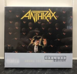 Anthrax - Among The Living Deluxe Edition (CD / DVD, 2009) RARE OOP Thrash NFV