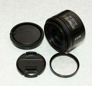 Sony 28mm F/2.8 Lens - SAL28F28 - SLT / DSLR (Minolta) A Mount Lens
