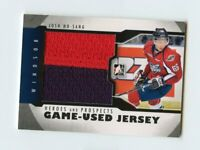 12/13 ITG HEROES & PROSPECTS GAME-USED JERSEY #M-19 JOSH HO-SANG SPITFIRES 63968