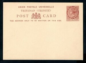 Trinidad - 1879 Penny Half Penny Unused Postal Card - Higgins & Gage #1