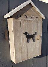 RUSTIC Chiave Armadio Portachiavi Gancio Chiave Legno Storage Home Decor Display DOG