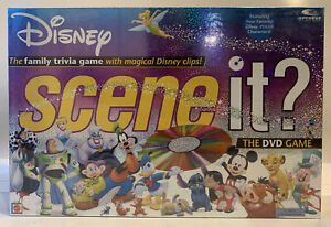 Disney Scene It? DVD Board Game (1st Edition) - New & Sealed