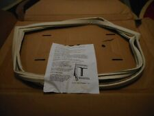 Frigidaire Kenmore Refrigerator Door Gasket (Almond)  NEW Part Free Shipping (D)
