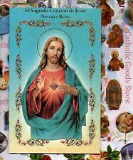 El Sagrado Corazon de Jesus Novena y Rezos - Spanish - Booklet