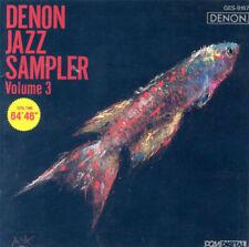 DENON Jazz Sampler Volume 3 - sehr gesuchte audiophile Referenz CD -
