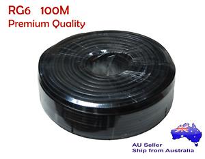 100M RG6 Shield Coaxial Cable PREMIUM QUALITY