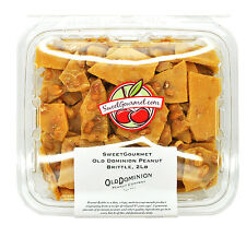 SweetGourmet Old Dominion Peanut Brittle, 2 LB FREE SHIPPING!