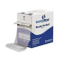 Sealed Air Corporation Sel10600 Bubble Wrap Cushioning Material 12inx100ft Ro