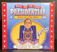2001 George W. Bush White House Presidential Jack-In-The-Box Musical Pop Up Toy