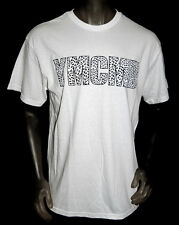 NEW YMCMB YOUNG MONEY casual CHEETAH short sleeve crewneck TShirt white *LARGE
