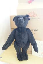 NEW STEIFF  SCHWARZBAR BLACK BEAR LIMITED 660627 MOHAIR TEDDY BEAR  35 cm BOXED