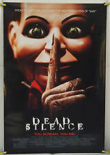 DEAD SILENCE DS ROLLED ORIG 1SH MOVIE POSTER HORROR (2007)