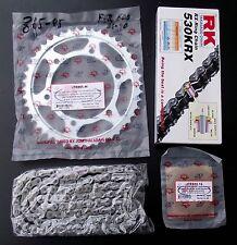 Kit chaîne Yamaha FZR 600, FZR600, 3HE, 15-45-106, chaîne, X-Anneau, RK 530 KRX