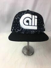 New Era Blank Paisly Bandanna Hat 9FIFTY Original-fit Black/White Snapback Cap