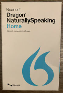 BRAND NEW Nuance Dragon K409A-G00-13.0 NaturallySpeaking 13 Home Software