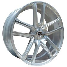 4 GWG WHEELS 20 inch STAGGERED Silver ZERO Rims fits HONDA ACCORD COUPE V6 2009