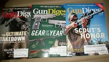Lot of 3 Gun Digest (Issue 13,16, 17, 2016) Back Issues