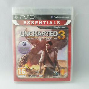 Sony Playstation 3 PS3 - Uncharted 3 Drake's Deception NEW SEALED