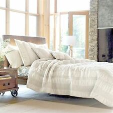 Quilt Comforter Casa 100% Cotton Twin White Color The Company Store  Was $139