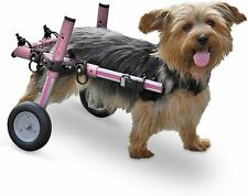 Small Pet Wheelchair Walkin Wheels Pink