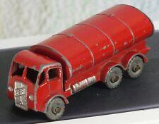 Matchbox Lesney # 11b ERF Petrol Tanker red + decal, Good no box