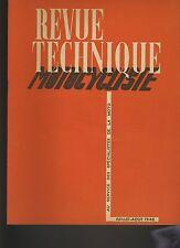 (12B)REVUE TECHNIQUE MOTOCYCLISTE DOUGLAS 350 CMC / NORTON type 16H